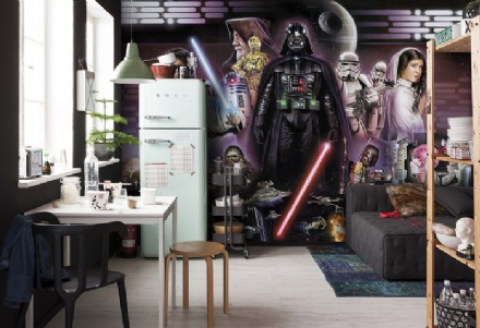 Star Wars Darth Vader Collage wall mural